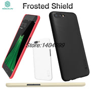 OPPO R11 Case Cover Nillkin Frosted Shield Hard Armor Back Cover Matte Case For OPPO R11