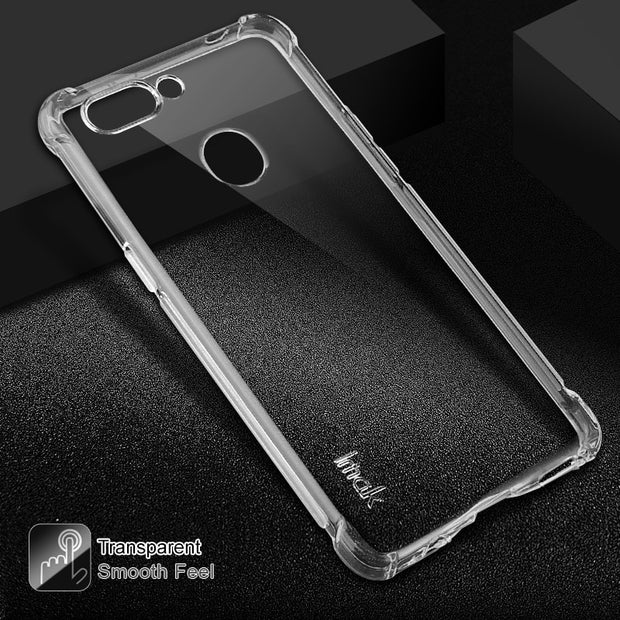 OPPO R15 Crystal Case Funda Oppo R15 Dream Mirror Case Silicone TPU Durable Coque For Oppo R15 Dream Mirror Mobile Phone Cover