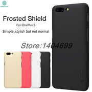 OnePlus 5 Case Nillkin Frosted Shield Hard Armor Back Cover Matte Case For OnePlus 5 A5000