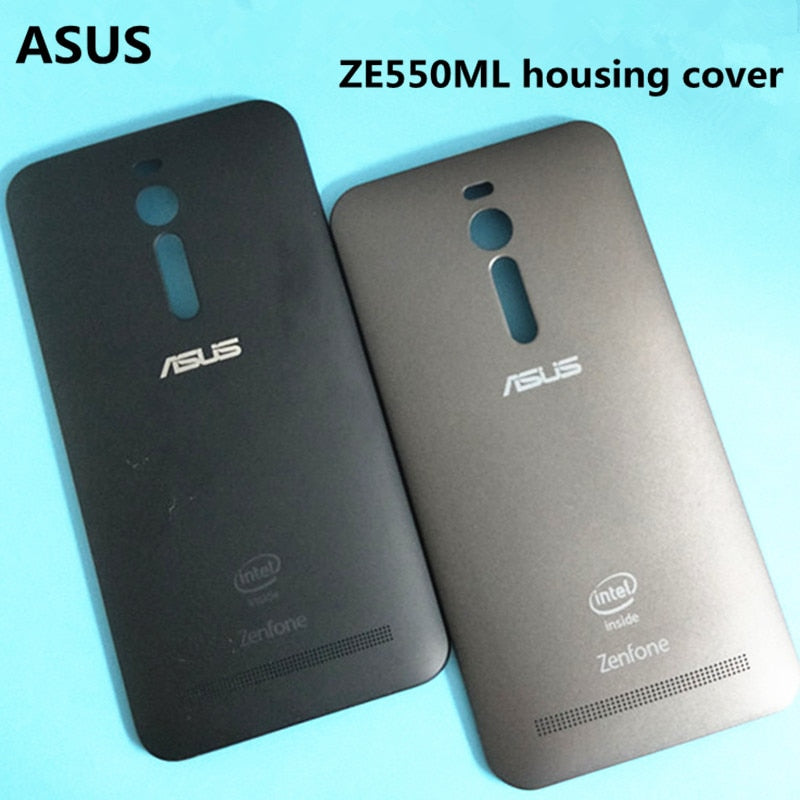 Original ASUS Zenfone 2 Deluxe ZE551ML ZE550ML Rear Housing Cover  Replacement Back Door Battery Case For Power Button, PC Bag