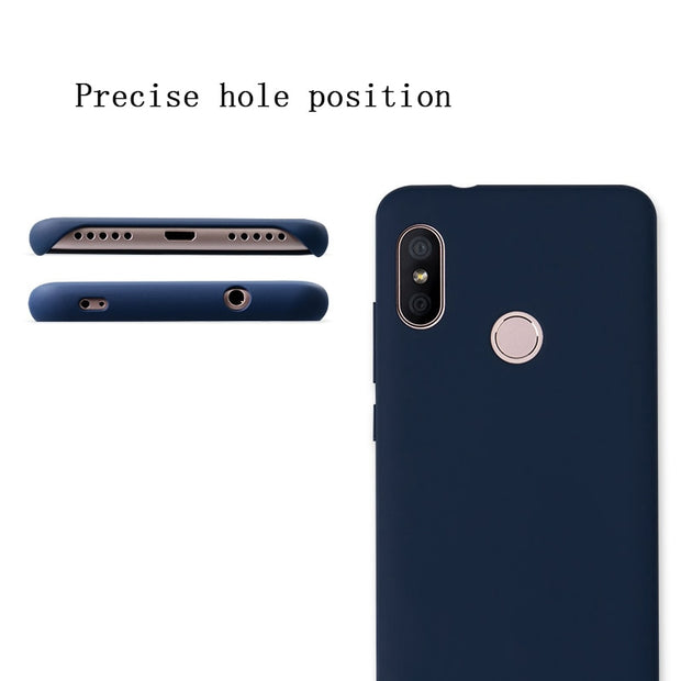 Original Phone Cases Xiaomi Redmi 6 Pro Case Cover Hard PC Shell Redmi 6Pro Business High Quality Ultra-thin Skin Funda Coque