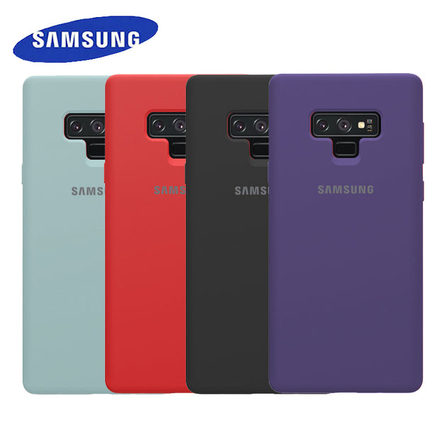 Original Samsung Cover For Galaxy Note 9 High-Quality Soft Silicone Protection Waterproof / Dustproof /Shockproof Back Case