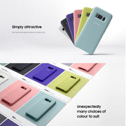 Original Samsung Mobilephone Silicone Cover For Galaxy S8 S8+ S8 Plus Anti-Wear Business Protection Case 6 Colors Available