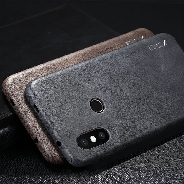 Original X-Level Xiaomi Mi A2 Lite Vintage PU Leather Back Cover Xiaomi Redmi 6 Redmi 6 Pro Ultra-thin Leather Case Coque Fundas