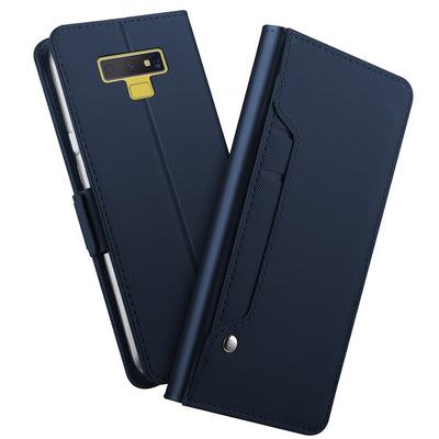 PU Leather Flip Stand Wallet Case For Samsung Galaxy Note 9 Case Magnet Buckle Phone Cover With Card Holders For Samsung Note 9