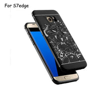 Phone Case For Samsung Galaxy S7edge Luxury Brand New Anti-knock Matte Silicone Phone Cover For Samsung S7edge Retail And Wholes