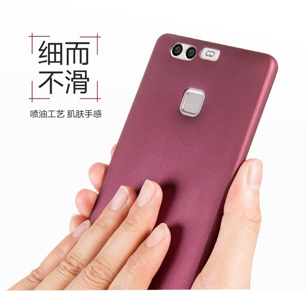 Phone Cases PIPILU X-Level Silky PC Matte Ultra Thin Back Case Shockproof Cover For Huawei Enjoy 8 Plus/Y6 2018/Mate RS/Honor 10