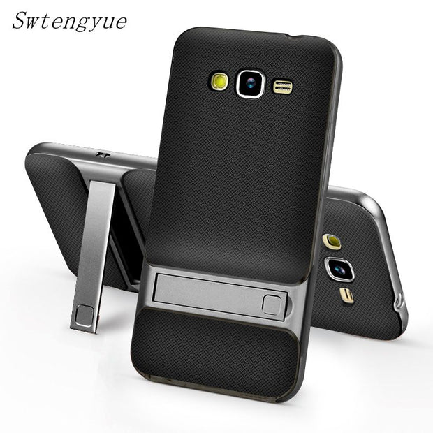 Phone Case For Samsung Galaxy J2 Prime, PC +TPU Ultra-thin Luxury Back Cover For Samsung Galaxy J2 Prime G532F Phone Shell