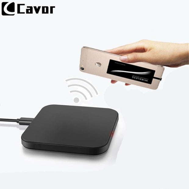 new style 4dc4f 55d06 Qi Wireless Charger For Samsung Galaxy J5 Prime J5 Case Mobile Phone  Accessories Power Bank Pad Wireless Charging Receiver Cable