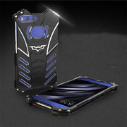 R-JUST BATMAN Series Luxury Doom Heavy Duty Armor Metal Aluminum Mobile Phone Cases For Xiaomi Mi 5 6 5c 5s Plus Note 2 Max Bags