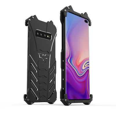 R-JUST Case For SAM S10 Lite Plus BATMAN Luxury Doom Heavy Duty Armor Metal Aluminum Phone Cases For Samsung S10/S10+/S10 Lite
