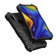 R-JUST Metal Bumper Case For Xiaomi Mi Mix 3 2S Slim Shockproof Armor Cover For Xiaomi Mi Mix3 Heavy Duty Carve Edge Back Cases
