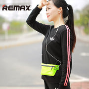REMAX Sport Mobile Phone Waist Pouch Running Belt Waist Pouch Unisex Gym Phone Zipper Waterproof Fiber Pouch Professional