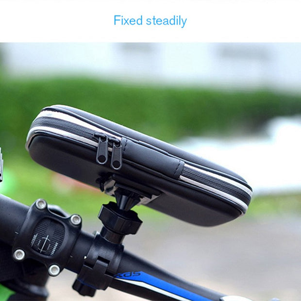 Rainproof Front Holder Waterproof Bag MTB Mountain Cycle Touch Screen Phone Bags Waterproof GPS Cycling Pouch Panniers 2018