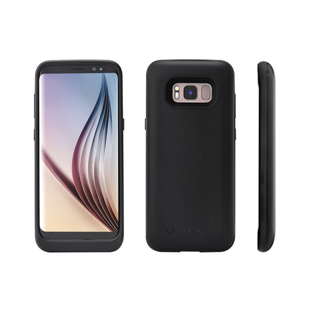S8 Slim Silicone Frame Shockproof Battery Case For Samsung Galaxy S8 Plus Charger Cases Charging Cover External Power Bank Capa