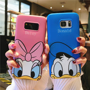 SAM S9 Plus Minnie Case, Cute / Daisy / Duck Soft Back Phone Cover Case For Samsung Galaxy S9 S8 S8plus Note8 Cover