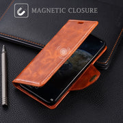 SLEO For Huawei Honor Magic 2 Case Luxury PU Leather Flip Case For Huawei Honor Magic 2 Wallet Stand Phone Cover 6.39""