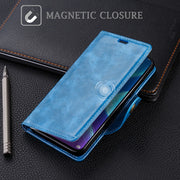 SLEO For Huawei Y9 2019 Wallet Case PU Leather Flip Case For Huawei Y9 2019 Phone Cover Cases 6.5 Inch