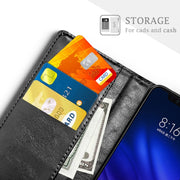 SLEO For Xiaomi Mi 8 Pro Case Retro PU Leather Flip Cover Case For Xiaomi Mi 8 Pro Wallet Stand Phone Cover 6.21""