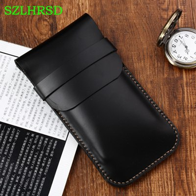 Szlhrsd New For Caterpillar Cat S31 S61 S60 S41 S30 S50 Case Protective Cover Genuine Leather Phone Bag All Inclusive Anti Fall