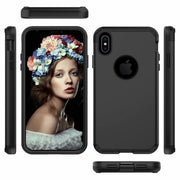 Shockproof Tough Hybrid Armor Drop Protection Case Cover For IPhone XS MAX 6.5""