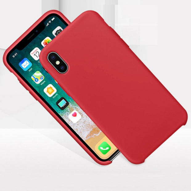 Silicone Shockproof Phone Back Case Cover Protector For Apple IPhone XR/XS Max