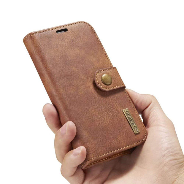 Sinbeda Luxury Original Leather Case For IPhone 5 6 7 Plus Case Wallet Magnetic Phone Bag Case For IPhone X 8 Plus Case