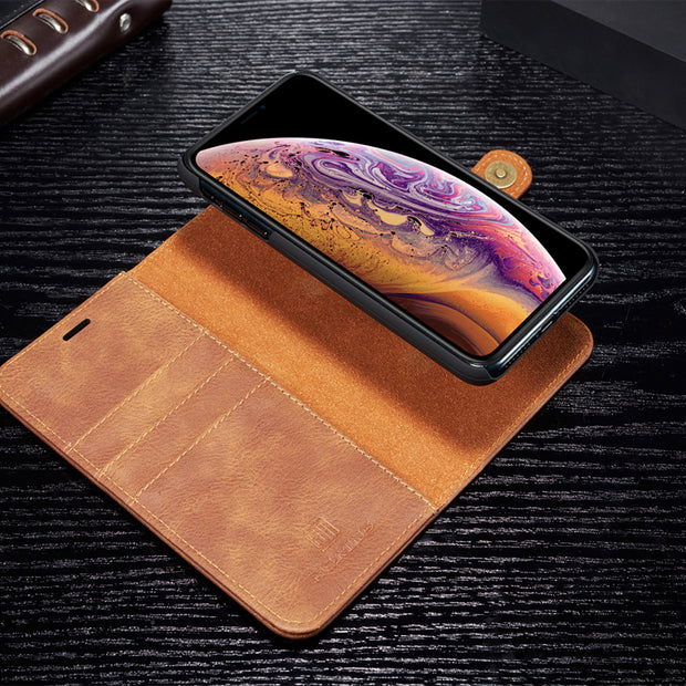 Sinbeda Luxury Original Leather Case For IPhone XS MAX XR Case Wallet Magnetic Phone Bag Case For IPhone XS MAX XR Phone Case