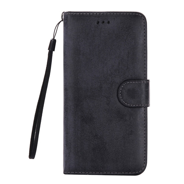 Snzvok Retro Pattern Pocket Card Slots Split Leather TPU Phone Case For Samsung S8 Plus S6 Edge Plus S7 Edge Note 5 With Strap