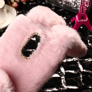 SoapTree Rabbit Fluff Silicon Case For Cubot Note Plus Case Cute Style For Cubot Note Plus 5.2 Inch Case Cover Shell Bag