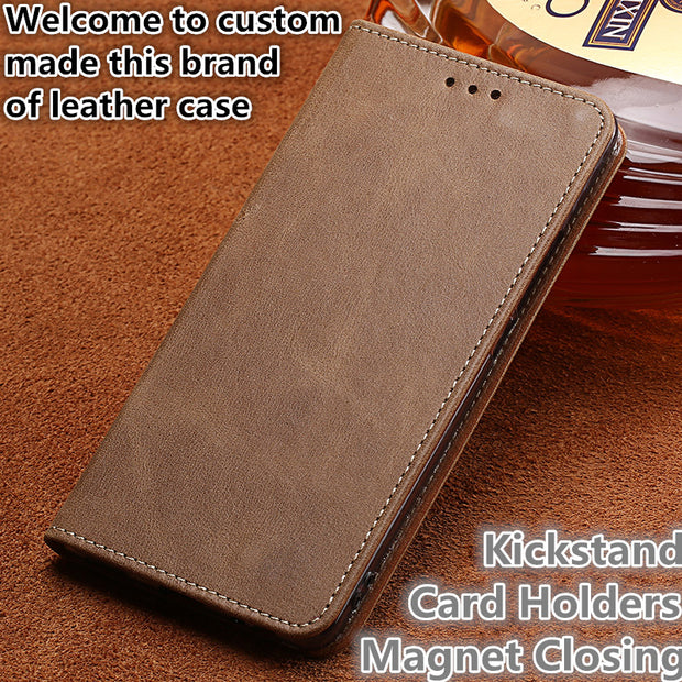 TZ09 Genuine Real Leather Flip Phone Cover For Nokia 5 Phone Case For Nokia 5 Leather Case Free Shipping
