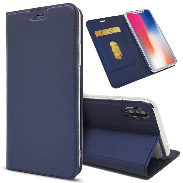 TobeThird Luxury Leather Flip Case For IPhone X Wallet Book Cover For IPhone X Case 10 IPhoneX 2017 5.8 Phone Case Hoesje Coque