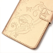 UPaitou Embossing Flower Leather Wallet Case For Samsung Galaxy J3 J5 J7 2015 2016 J320F J500F J510F J700F J710F Flip Cover Case