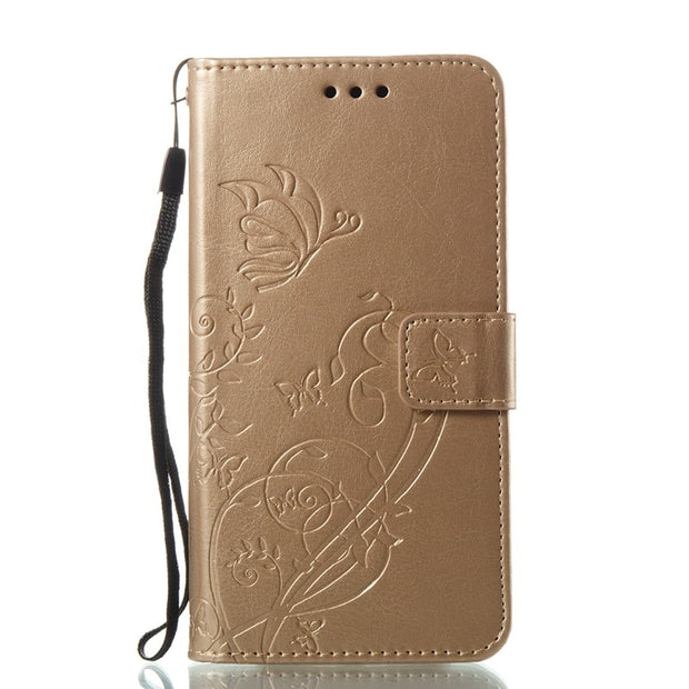 UPaitou Luxury 3D Embossing Flower Flip Wallet Cover For Samsung Galaxy J5 2017 J530F PU Leather Case For Samsung J5 Pro Pouch