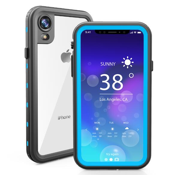 online retailer 1849b 7a227 Underwater Phone Cover For IPhone XR Case Waterproof Diving Swimming ...