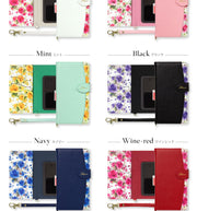 Universal Case For Huawei P9 P10 Lite P20 Lite Honor 8 9 Lite Honor 10 Elegant PU Leather Cute Flower Pattern Flip Wallet Case