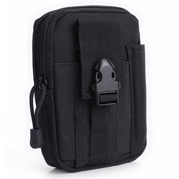 Utility Belt Loop Pouch For IPhone X 8 7 6S Plus Waist Holster Nylon Pocket Bag Cover Case For Samsung Huawei Xiaomi Google LG