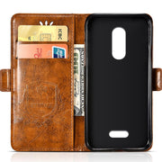 Vintage Embossing Leather Case For Wiko UPulse Lite Case Flip For Wiko U Pulse Cover Silicone Mobile Phone Bag Protective Shell