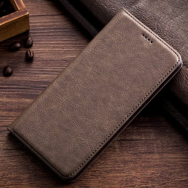 Vintage Leather Case For Lenovo K5 Note A7020 K52t38 A7020a40