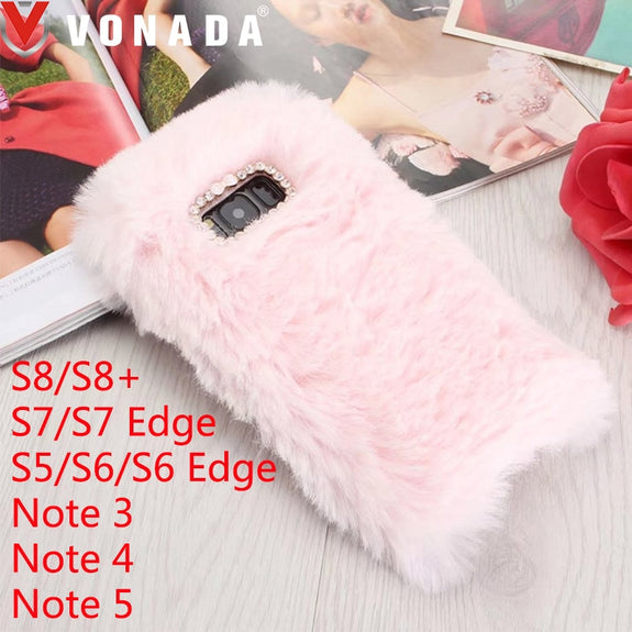 galaxy s5 fluffy phone case