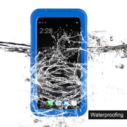 Waterproof Smartphone Case Shockproof Lightweight Soft Silicone Full Protective Case Cover Suitable For IPhone/for Samsung