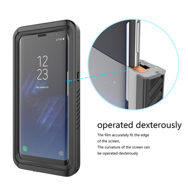 Waterproof Phone Cases For Samsung Galaxy S Lite Luxury Edition Samsung Galaxy S8 Case 360 Degree Protection Shockproof Cover
