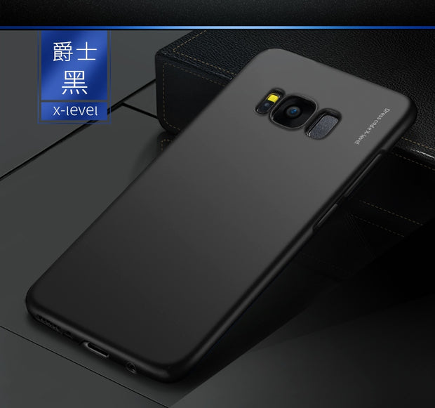 X-Level Brand Knight Series Matte PC Shell Back Case For Samsung Galaxy S8 Plus / S8 Ultra-Slim Light Phone Cover