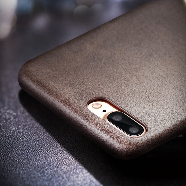 X-Level Case For IPhone 8 Luxury Leather Back Case Shockproof Business Vintage Protective Cover Case For Apple IPhone 8 Plus