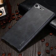 X-Level Case For Sony Xperia XZ Premium Luxury PU Vintage Cover For Sony Xperia XZ Premium Elegant Phone Cases Business Case