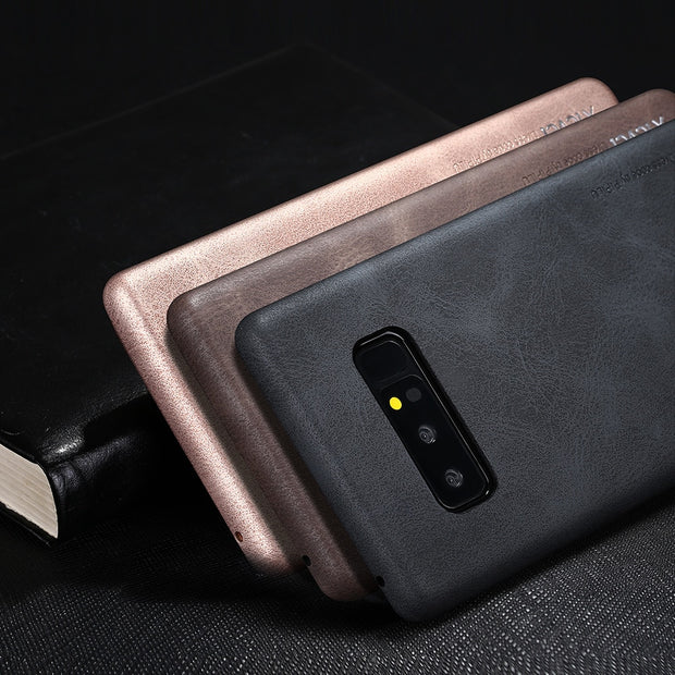 X-Level Case For Samsung Note 8 Case Cover Leather Edge Man Business Note 8 Back Cover For Samsung Galaxy Note 8 Note8 Coque