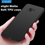 X-Level For Fundas HTC U11 U 11 Soft Phone Case Luxury Back Cover For U11 Coque Matte Case