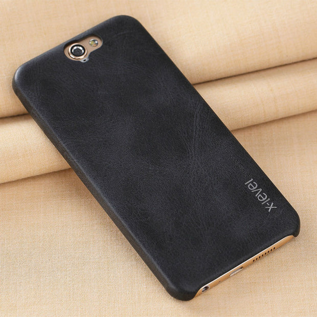 X-Level Leather Phone Case For HTC ONE A9 Ultra Thin PU Back Case For HTC A9