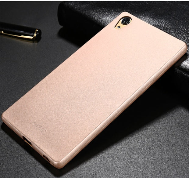 X-Level Matte Plain Case For Coque Sony Xperia Z5 Premium Dual Sim Soft TPU Case Luxury Back Cover For Fundas Sony Z5+ Case