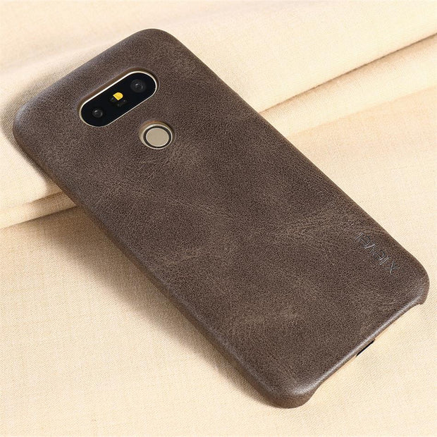 X-Level New Vintage PU Leather Case For LG G5 Luxury Back Case Cover For LG G5 Case